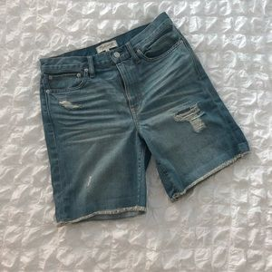 New Madewell Denim Highrise Shorts